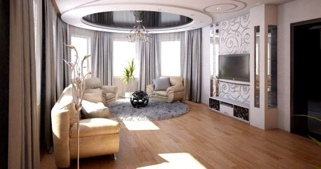 гостиная интерьер дизайн фото 1