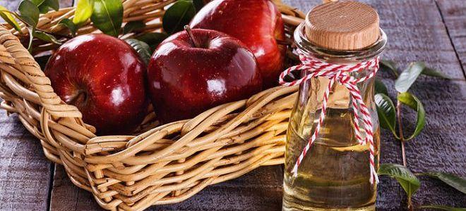 похудение с помощью яблочного уксуса идет