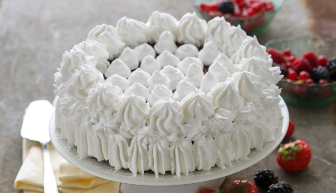 How to decorate cake cottage cheese