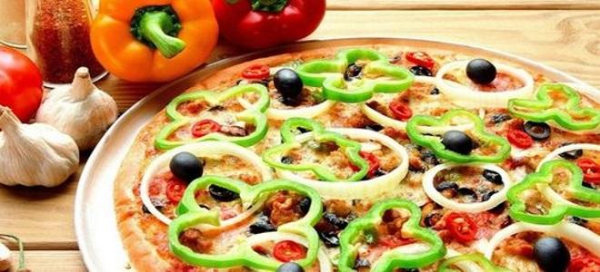 Pizza au micro-ondes