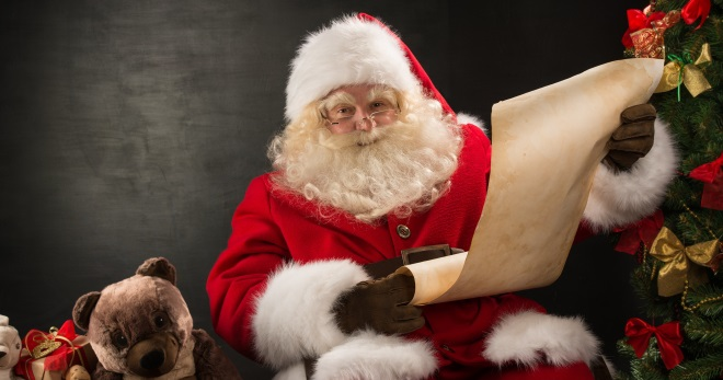 Kdo je Santa Claus - co vypadá, kde to je, co dělá manželka, rozdíly od Santa Claus