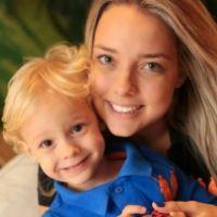 Неймар с женой и сыном фото