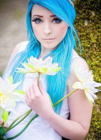 голубые волосы3