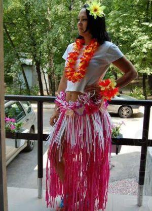 Гавай партиясының костюмдері оны өзіңіз жасайды 11