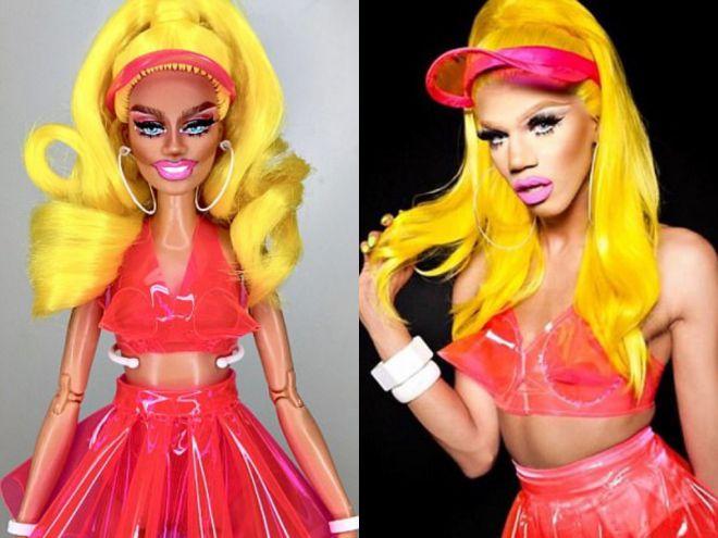 кукла Наоми и её прототип – Наоми Смоллз Naomi Smalls