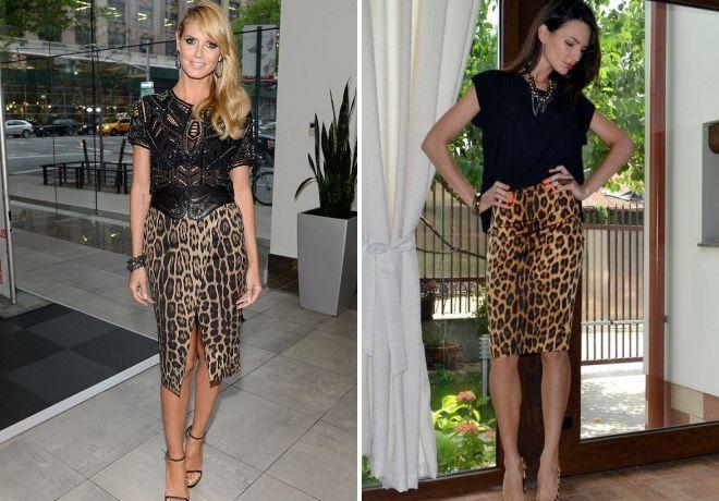 5c7789fb1c14 Nosiť leopard sukne. S tým