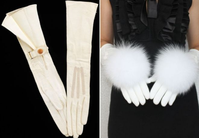 white gloves to dress