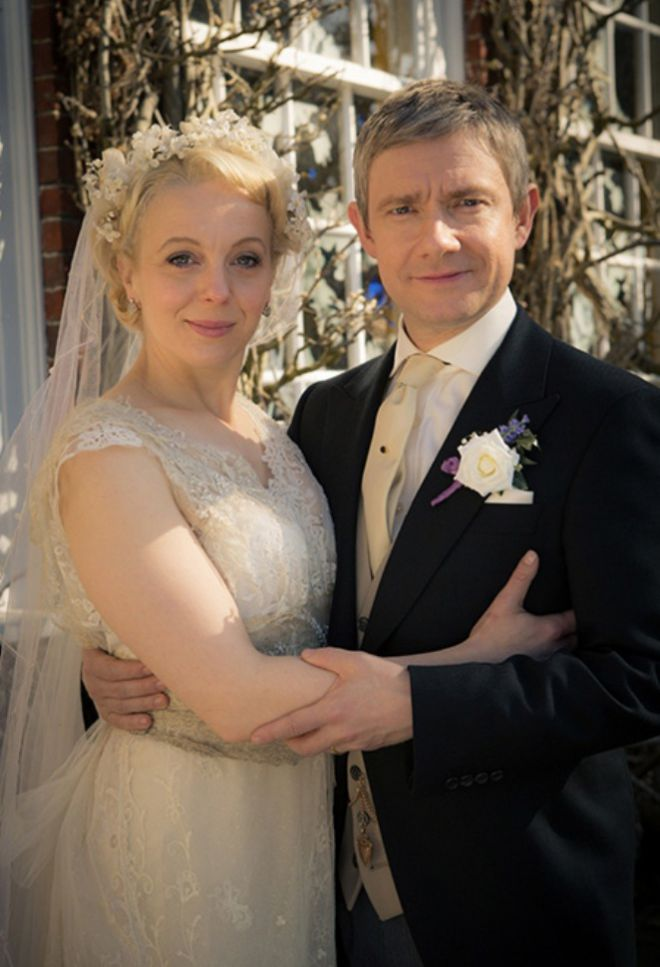Family Chet Watson - Amanda Abbington and Martin Freman