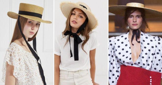 Cappello gazzino con le cravatte moda