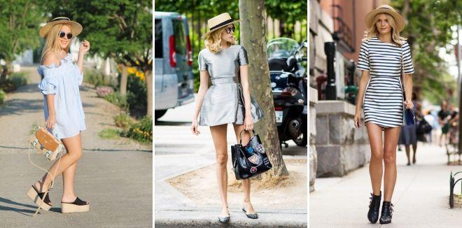 Cappello di canna - con cosa indossa un vestito