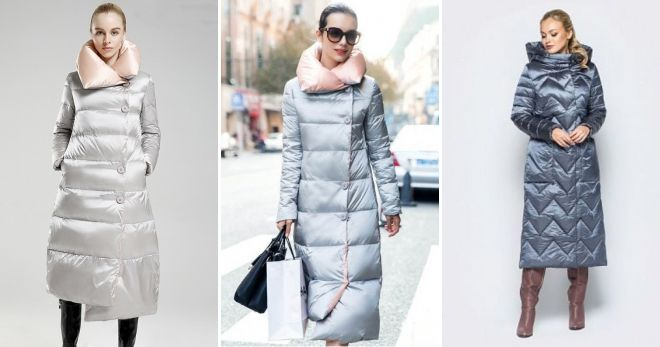 What to wear with a long gray down jacket