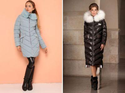 fashionable warm down jackets