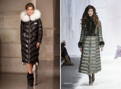 long down jackets with fur