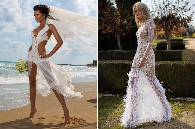 original beach wedding dresses