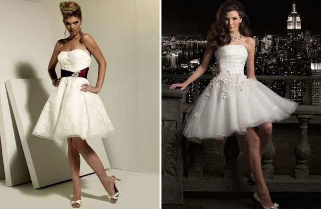 luxurious beach wedding dress
