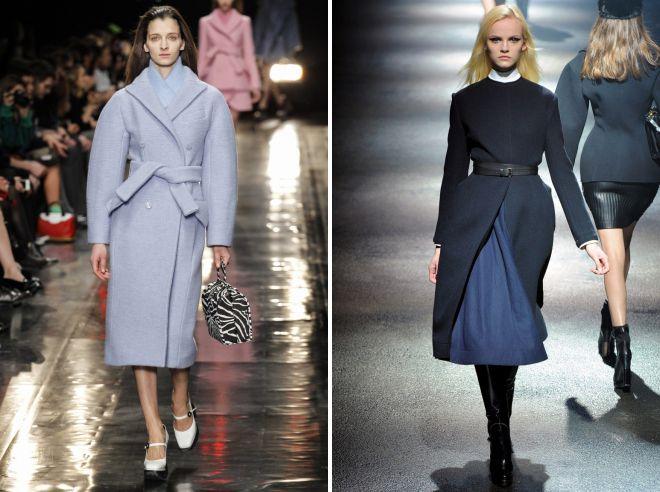 stylish shoes under the coat bathrobe