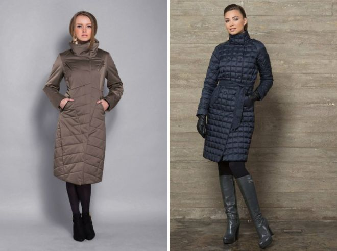 what shoes to wear a quilted coat