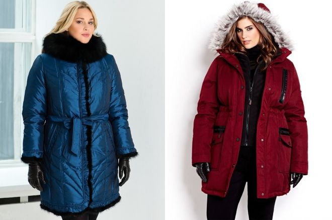 winter jackets for obese women
