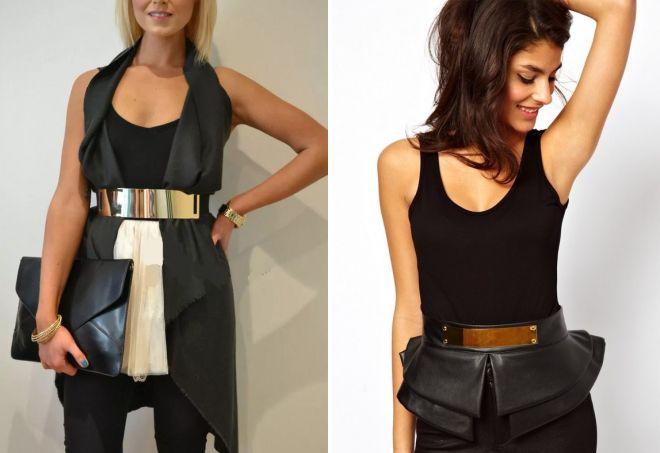 fashion belt corset