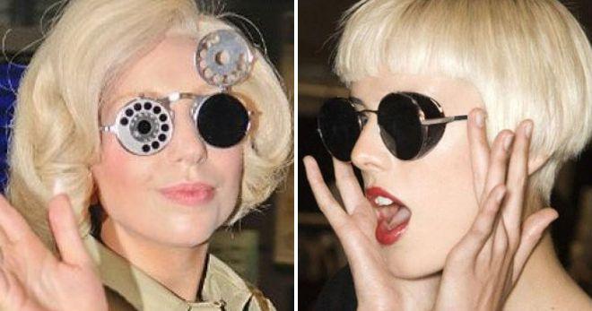 round steampunk glasses