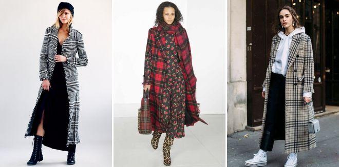 Women's Check Coat 2019