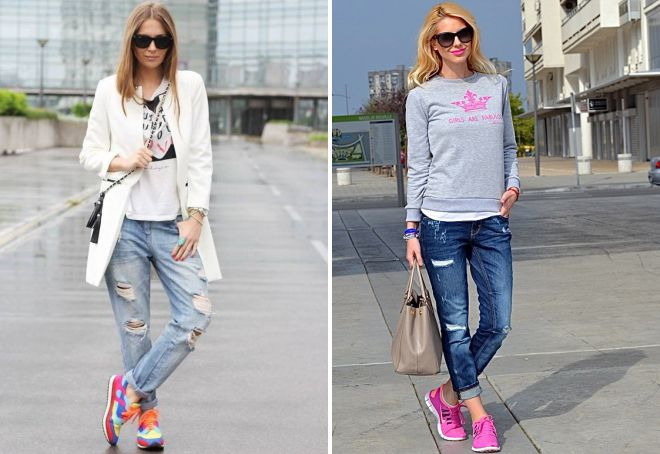 sneakers for jeans