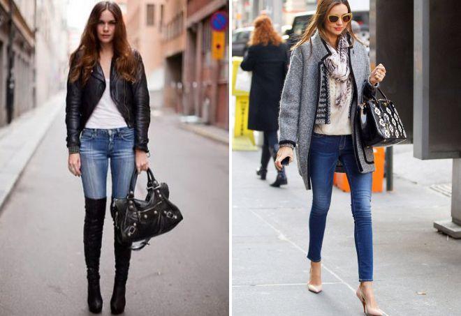 women's shoes under jeans