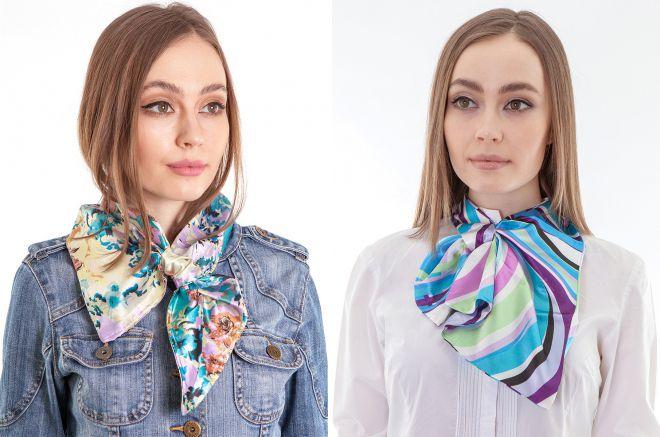 women's scarf tie