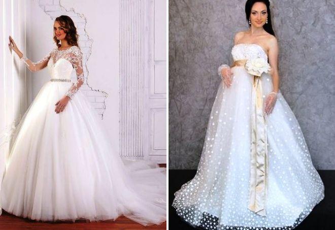 beautiful wedding dresses for pregnant women