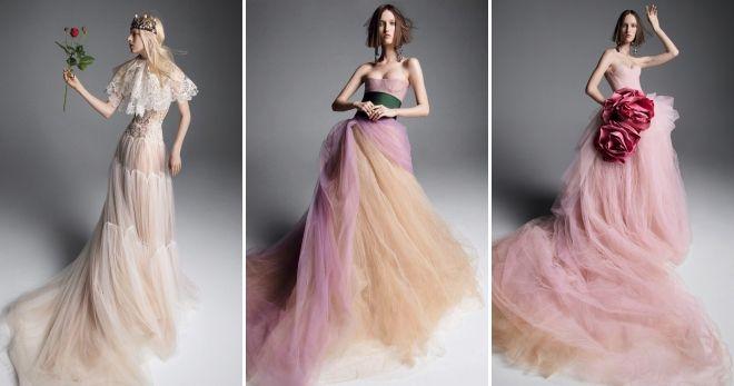 Wedding collections 2019 Vera Wang