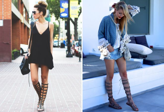 what to wear roman sandals