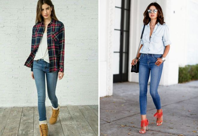 women's jeans with a shirt 2017