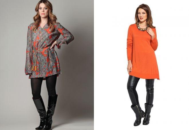 what to wear demi-season dress tunic
