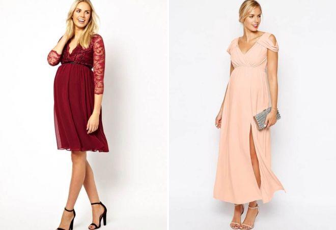 dress as a wedding guest pregnant