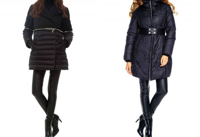 women's down jacket to the knee