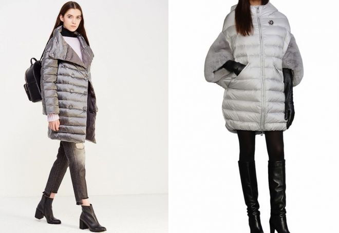 with what to wear a down jacket cocoon to the knee