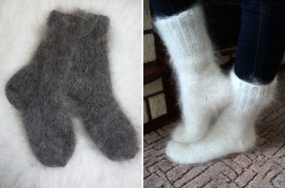 women's downy socks