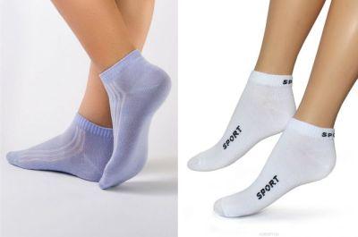 short women's socks