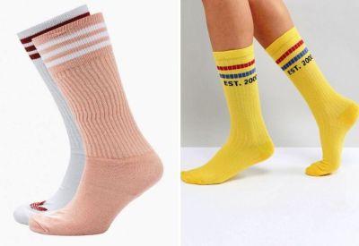 high women's socks