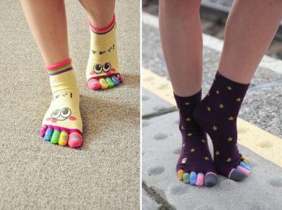 women's colored socks