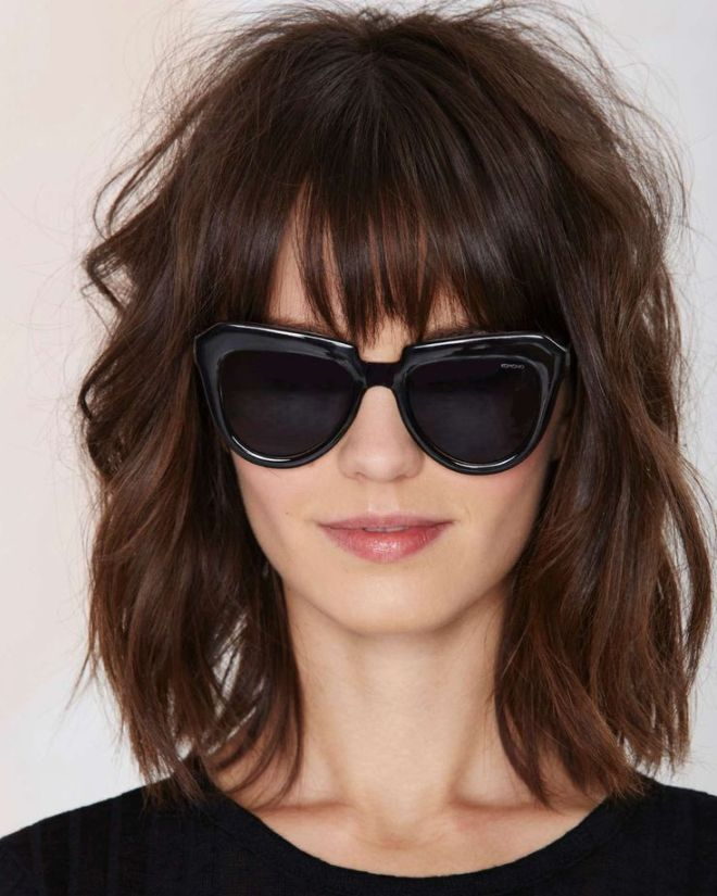 Haircuts for thin hair with bangs once