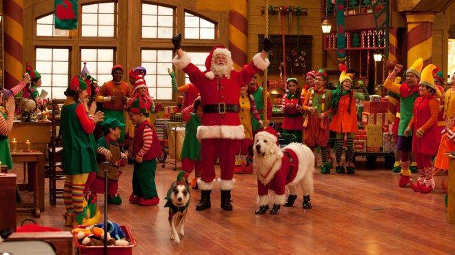 Elf Santa Claus.