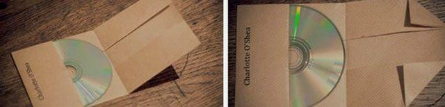 Hogyan készítsünk egy borítékot a lemezre14
