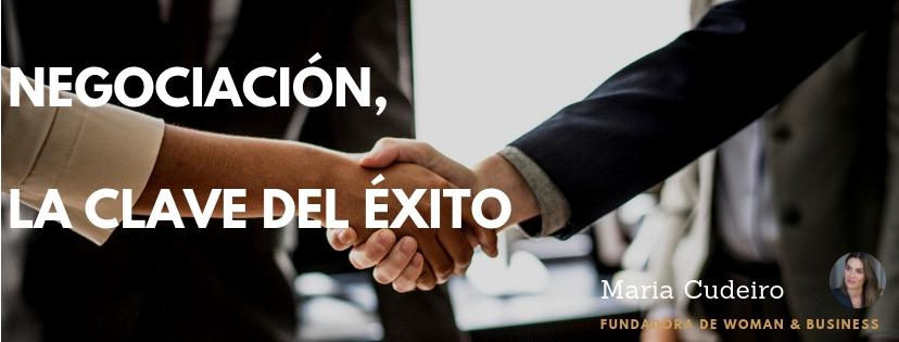 negociación la clave del éxito