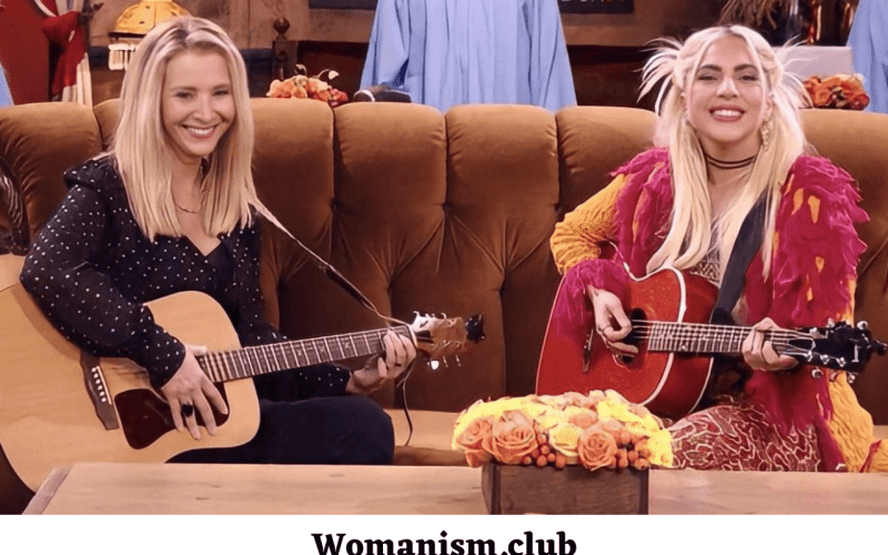 Lady Gaga and Lisa Kudrow sing Smelly Cat on Friends Reunion