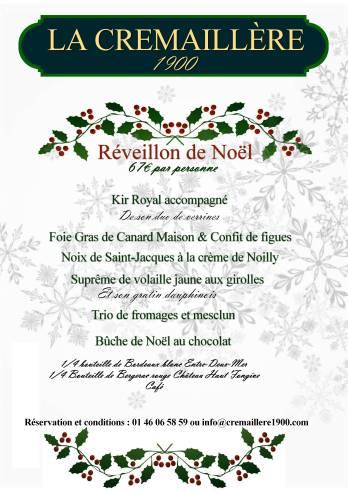 Menu Reveillon De Noel.A Paris Christmas Woman Of A Certain Age In Paris