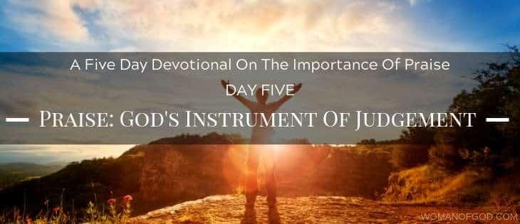 God's instrument of judgement devotional