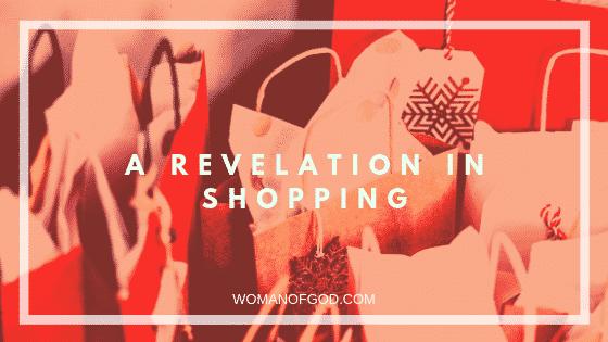 revelation in shopping