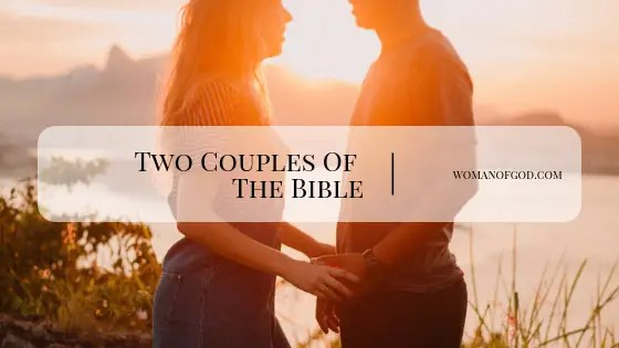 two couples of the bible