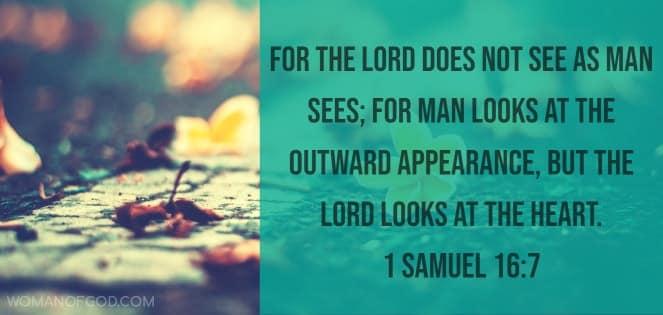 Bible Verse 1 Samuel 16:7
